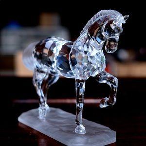 Rare Swarovski Crystal Horse